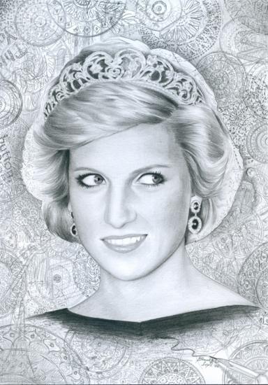 Lady Diana por baurberdeshev